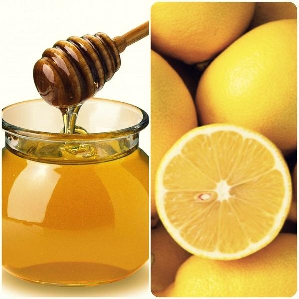 honey lemon DIY face mask Подтягивающие маски для лица