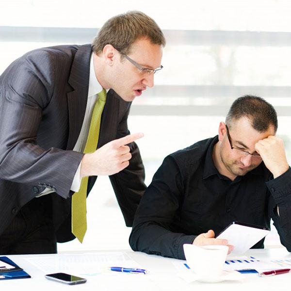 Как поставить на место начальницу или начальника?