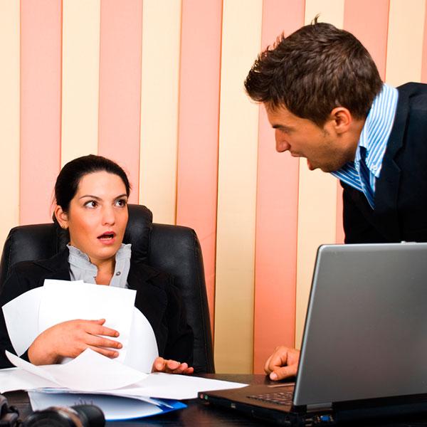Как реагировать на хамство на работе?
