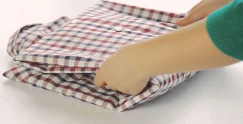 3c0cfb90066449a Как сложить рубашку, чтобы она не помялась?