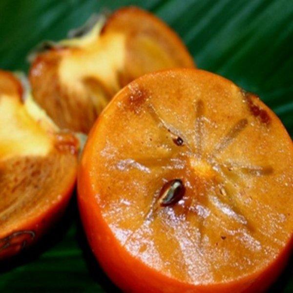 фото фрукта хурмы в разрезе
