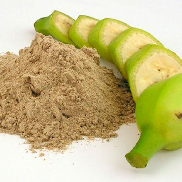 в зеленых бананах есть крахмал