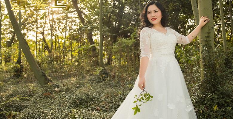 7347c1a23edd5da Свадебное платье для полных невест — большие размеры нарядных ...