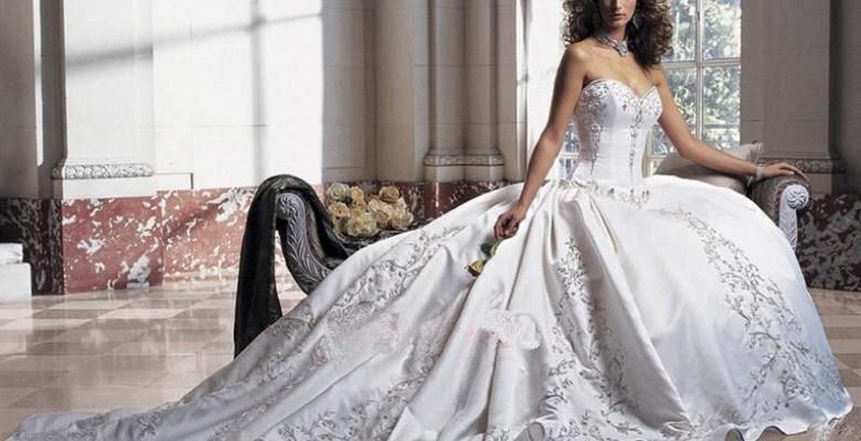 bbcccc71a35 Пышные свадебные платья — фото самого пышного свадебного платья в ...