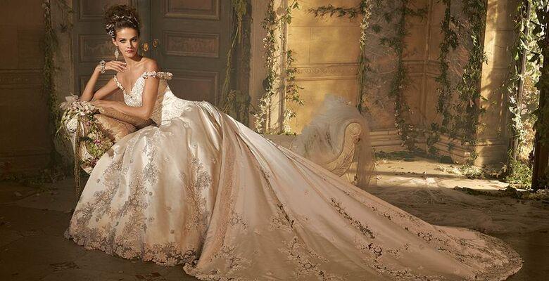 09fbd0e5f85 Свадебные платья звезд — фото платьев невест-знаменитостей на ...
