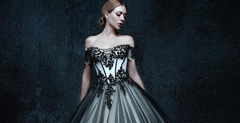 b2c9121d4363c26 Черные свадебные платья — можно ли по приметам выходить замуж в ...