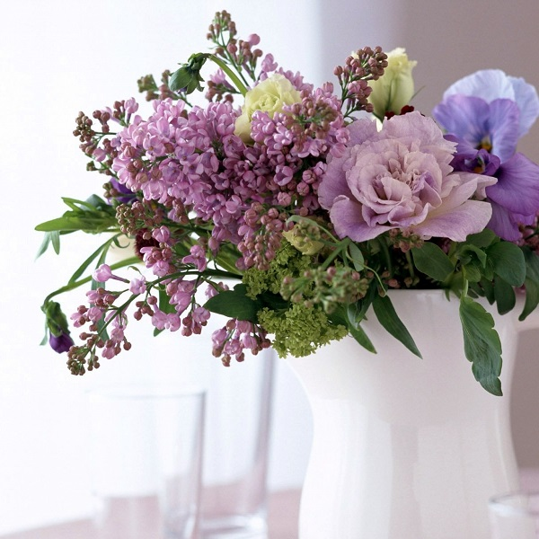 Букет цветов для жены на хрустальную свадьбу