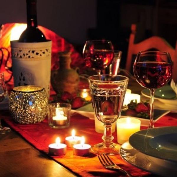 Ужин на двоих на годовщину свадьбы