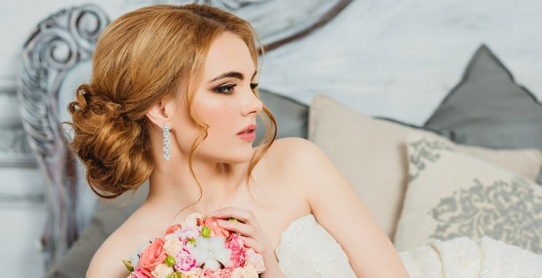 1348d46801e845f Свадебные прически для невест — современные красивые прически ...