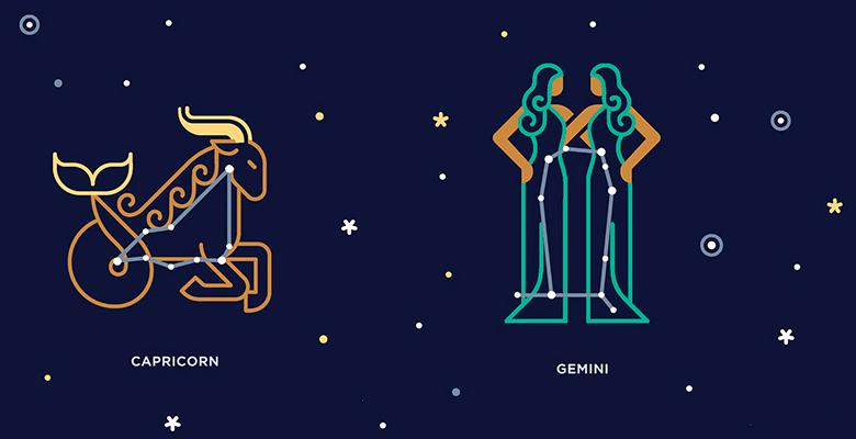Совместимость знаков зодиака в любви близнецы мужчина и козерог женщина
