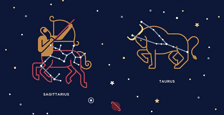 Гороскоп совместимости Телец и Стрелец. Совместимость знаков зодиака Телец и Стрелец