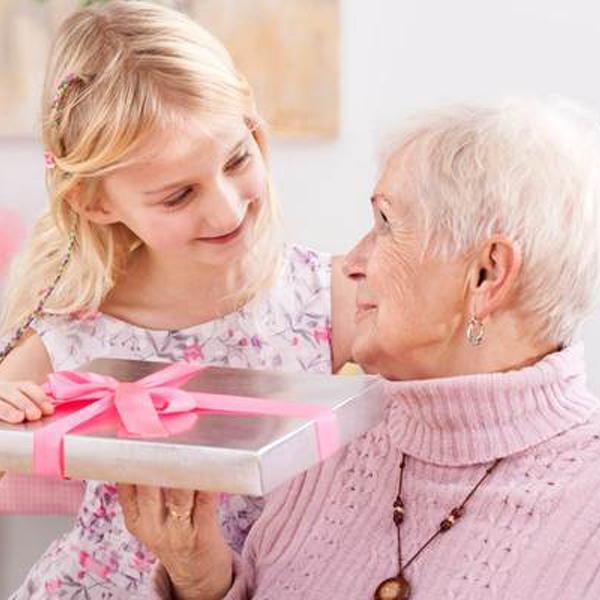 подарок для любимой бабушки