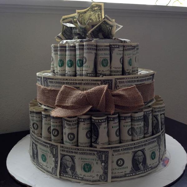 денежный подарок на день рождения