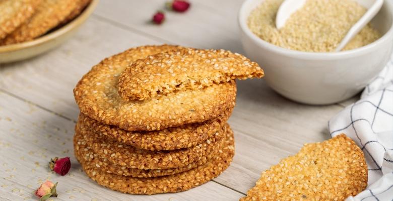 Кунжутное печенье - пошаговый рецепт с фото на Готовим дома